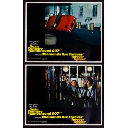 View 5: James Bond US Movie Lobby Card Assortment