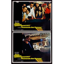 View 4: James Bond US Movie Lobby Card Assortment