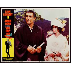 """View 2: 1967 James Bond Movie """"You Only Live Twice"""" Lobby Card Assortment"""