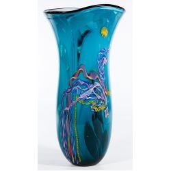 View 3: Dutch Schulze for Bandon Glass Art Glass Vase