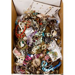 View 2: Sterling Silver, Costume Jewelry and Wrist Watch Assortment