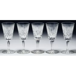 """View 5: Waterford Crystal """"Lismore"""" Stemware Assortment"""