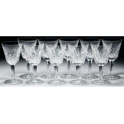 """View 4: Waterford Crystal """"Lismore"""" Stemware Assortment"""