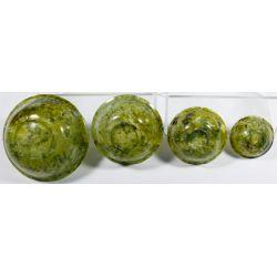 View 4: Chinese Jadeite Jade Nesting Bowl Assortment