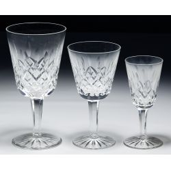 """View 2: Waterford Crystal """"Lismore"""" Stemware Assortment"""