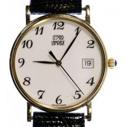 View 3: Lester Lampert 14k Gold Case Wrist Watch
