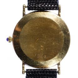 View 4: Lester Lampert 14k Gold Case Wrist Watch