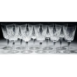 """View 3: Waterford Crystal """"Lismore"""" Stemware Assortment"""