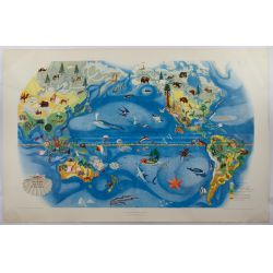 View 2: Miguel Covarrubias (Mexican, 1904-1957) Pageant of the Pacific Maps