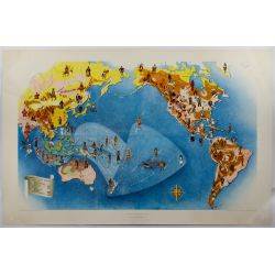 View 4: Miguel Covarrubias (Mexican, 1904-1957) Pageant of the Pacific Maps