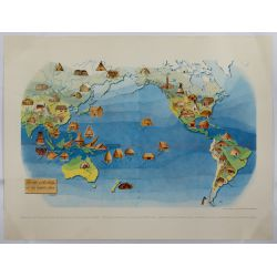 View 5: Miguel Covarrubias (Mexican, 1904-1957) Pageant of the Pacific Maps