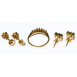 View 3: 14k Gold and 10k Gold Jewelry Assortment