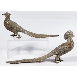 View 2: Sanborns (Mexico) Sterling Silver Pheasant Figures