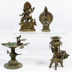 View 2: Asian Metalwork Assortment