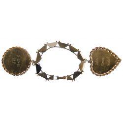View 2: 14k Gold Charm Bracelet