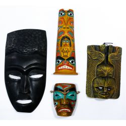 View 6: Tribal Style Mask Assortment