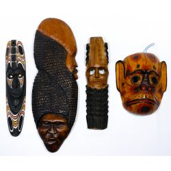 View 8: Tribal Style Mask Assortment