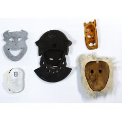 View 5: Tribal Style Mask Assortment