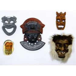View 4: Tribal Style Mask Assortment