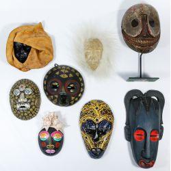 View 3: Tribal Mask Assortment
