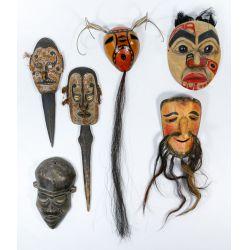 View 4: Tribal Mask Assortment