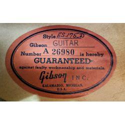 View 14: Gibson ES-175-D Jazz Guitar