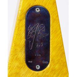 View 7: Hamer Rick Nielson Limited Edition Korina Explorer / Futura Guitar