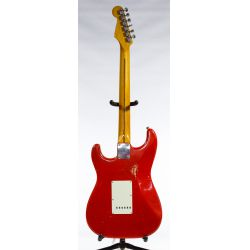 View 2: Fender Stratocaster Style Dakota Red Electric Guitar