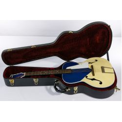 View 9: Silvertone Kentucky Blue Acoustic Guitar