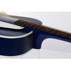 View 5: Silvertone Kentucky Blue Acoustic Guitar
