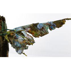 View 2: Bronze and Enamel Tree Sculpture