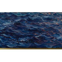 "View 3: Guido Odierna (Italian, 1913-1991) ""The Fishermen"" Oil on Canvas"
