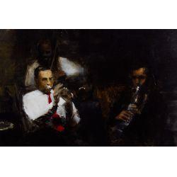 View 2: Jim Pennington (American, b.1972) Oil on Panel