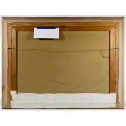 "View 4: Guido Odierna (Italian, 1913-1991) ""The Fishermen"" Oil on Canvas"