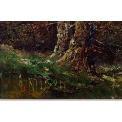 View 3: Unknown Artist (European, 20th Century) Oil on Canvas Landscape