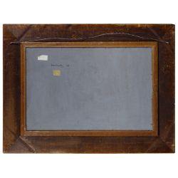 "View 6: Evan Charlton (English, 1904-1984) ""The Geologist"" Oil on Masonite"