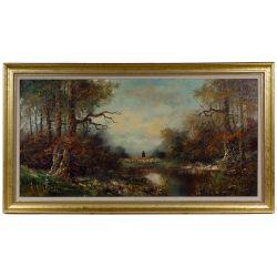 View 2: Unknown Artist (European, 20th Century) Oil on Canvas Landscape