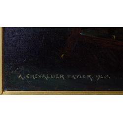 View 4: Albert Chevallier Tayler (English, 1862-1925) Oil on Canvas