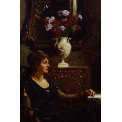 View 2: Albert Chevallier Tayler (English, 1862-1925) Oil on Canvas