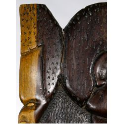 View 4: West African Palaver Chair and Nepal Mask