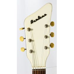 View 6: Airline 1964 Folkstar Guitar