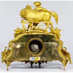 View 4: French Gilt and Ormulu Mantel Clock