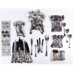 """View 2: Christofle """"Berry"""" Stainless Steel Flatware Assortment"""
