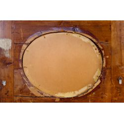 View 4: Trumeau Gilt Mirror with Painted Roundel