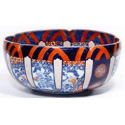 View 2: Japanese Imari Style Bowl