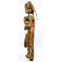 View 2: Gujarati Painted Bracket Figure