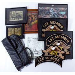 View 2: Harley-Davidson HOG Memorabilia and Leather Assortment