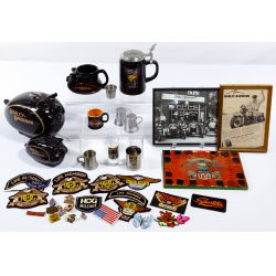 View 3: Harley-Davidson HOG Memorabilia and Leather Assortment