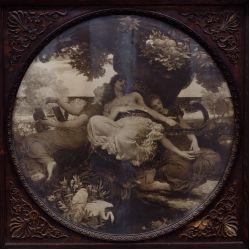 View 3: Victorian Triptych Mantel Decoration
