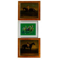 View 3: Horse Racing Themed Object Assortment